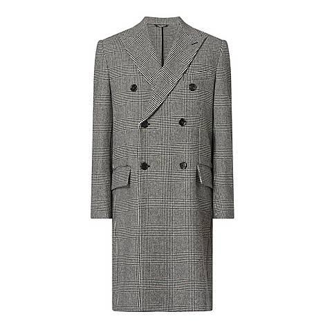 Glen Plaid Coat, ${color}