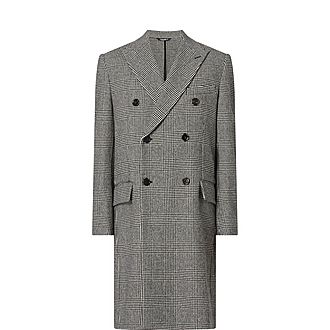 Glen Plaid Coat