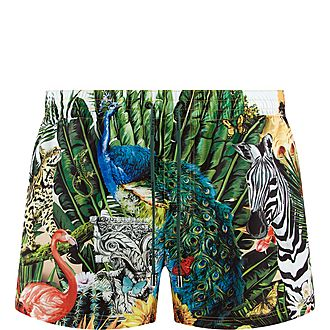 Tropical King Swim Shorts