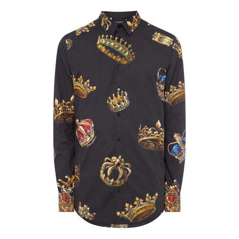 Crown Print Shirt, ${color}