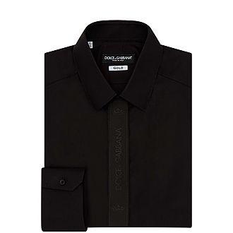 Tonal Logo Tape Shirt