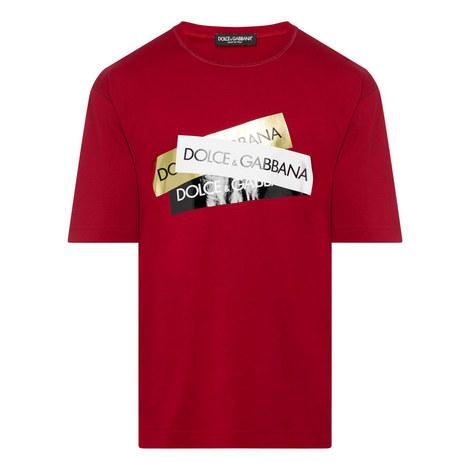 Tape Logo T-Shirt, ${color}