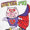 Super Piggy Print T-Shirt, ${color}