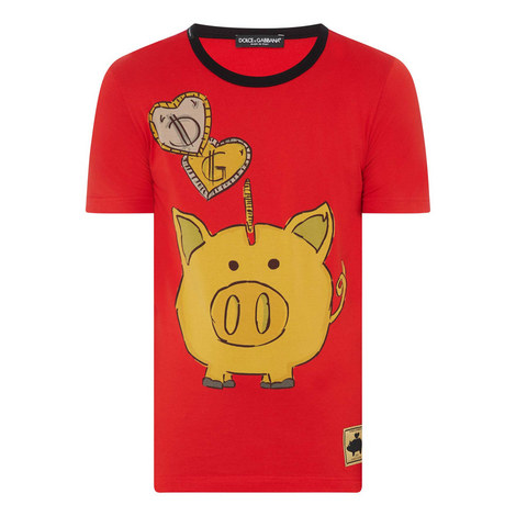 Piggy Bank T-Shirt, ${color}