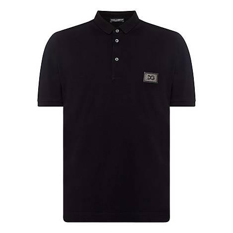 Plaque Polo T-Shirt, ${color}