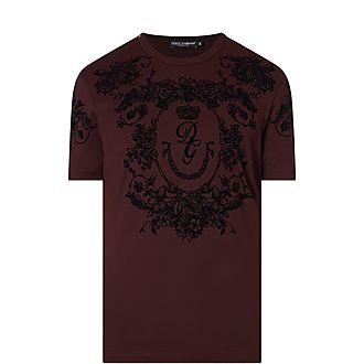 Flock Crest T-Shirt