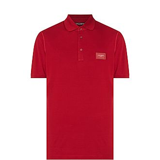 Logo Plaque Polo Shirt