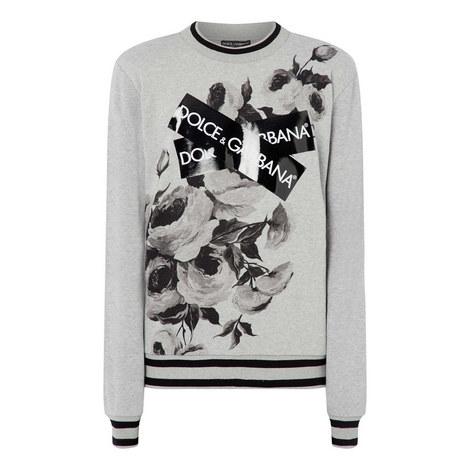 Floral Tape Sweatshirt, ${color}