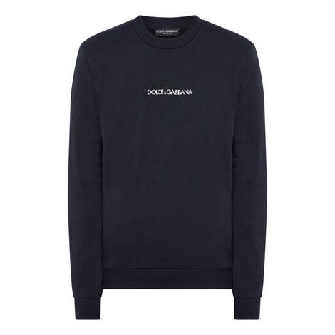 Small Logo Sweatshirt, ${color}