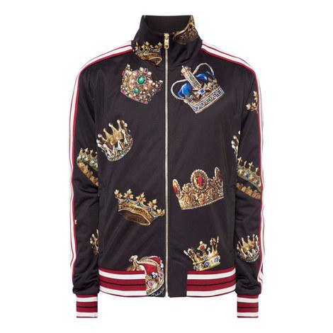 Crown Print Sweatshirt, ${color}