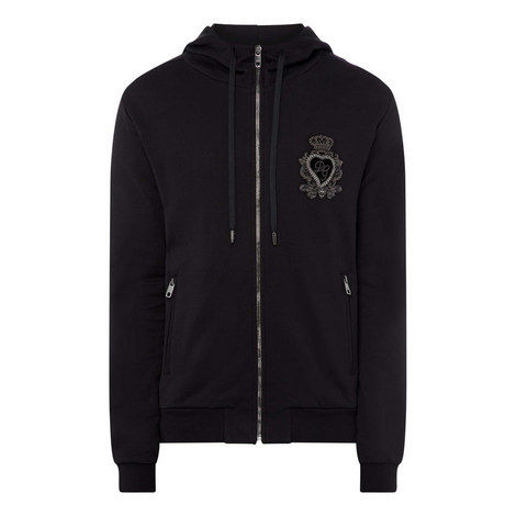 Crown Embroidered Hoodie, ${color}