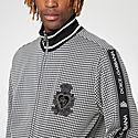 Houndstooth Zip Sweatshirt, ${color}