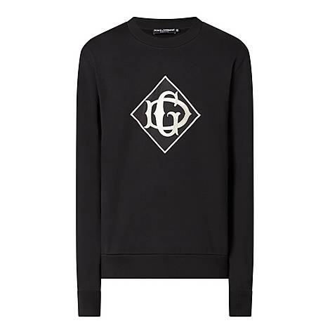 Logo Crew Neck Sweatshirt, ${color}