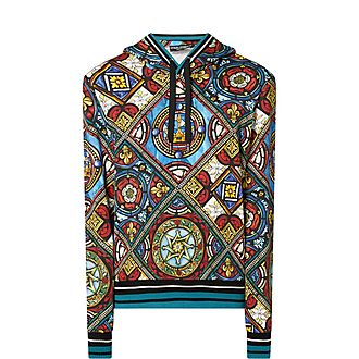 Stained Glass Cotton Hoodie