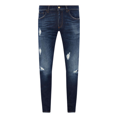 Distressed Skinny Jeans, ${color}
