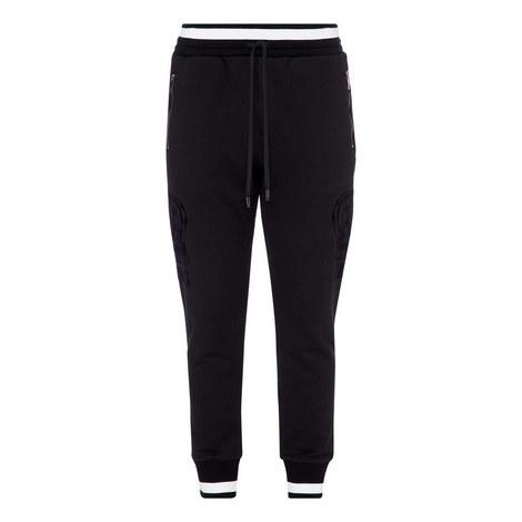 Tonal Crown Sweatpants, ${color}