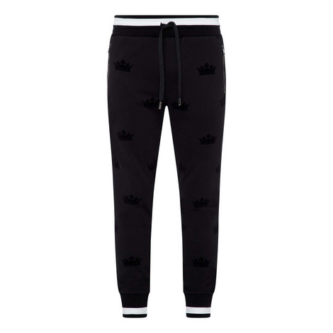 Tipped Accent Sweatpants, ${color}