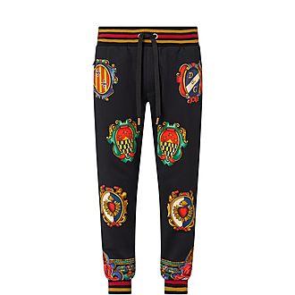 Heraldic Crest Sweatpants