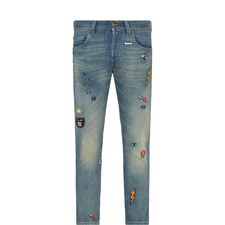 Icon Tapered Fit Jeans