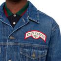 Flock Back Denim Jacket, ${color}