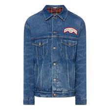 Flock Back Denim Jacket