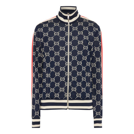 GG Zip-Through Sweatshirt, ${color}