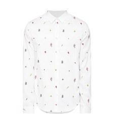 Symbols Oxford Cotton Shirt