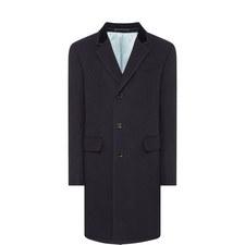 Bee Motif Overcoat