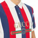 Wide Stripe Polo, ${color}