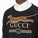 Logo Leopard Appliqué Sweatshirt, ${color}