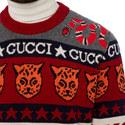 Tiger Snake Print Sweater, ${color}
