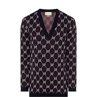 GG Jacquard Sweater