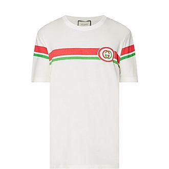 Fake GG Stripe T-Shirt