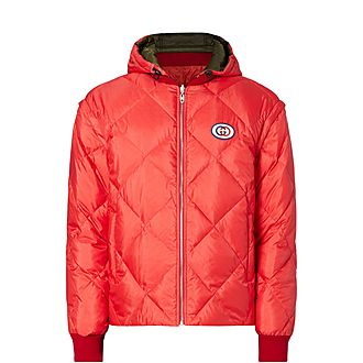 Diamond Reversible Puffer Jacket