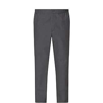 Wool Casual Trousers