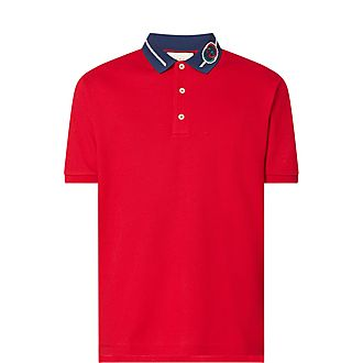 Rope Collar Polo T-Shirt