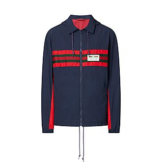 Coach Striped Jacket