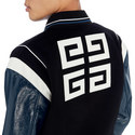 4G Back Leather Jacket, ${color}