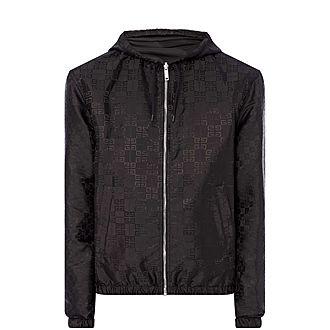 4G Tonal Hooded Jacket