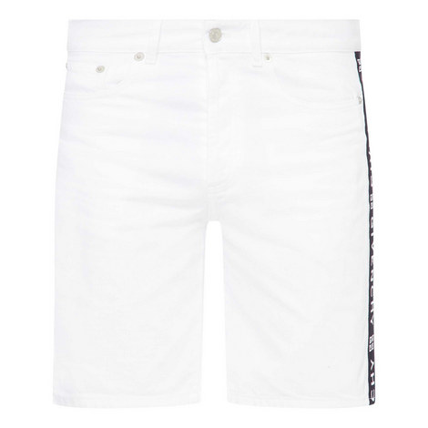 Tape Denim Shorts, ${color}