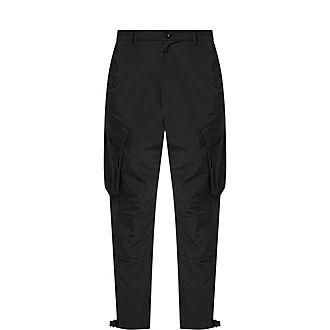 Cotton Blend Cargo Trousers