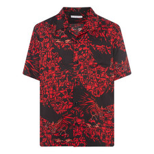 Red Dragon Bowling Shirt