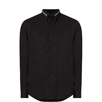 Branded Collar Shirt