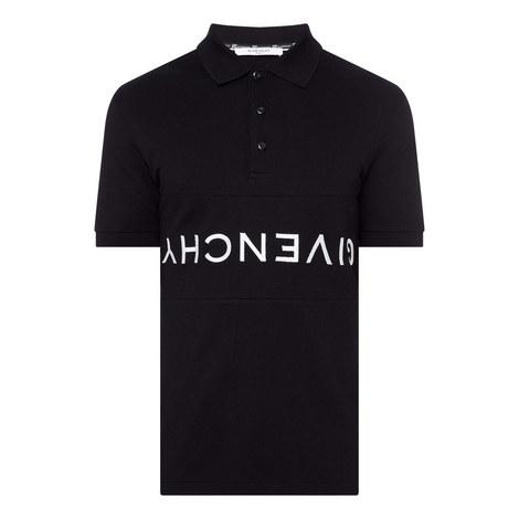 Upside Down Logo Polo Shirt, ${color}