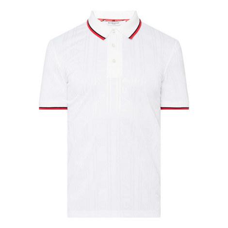 Jacquard Striped Polo Shirt, ${color}