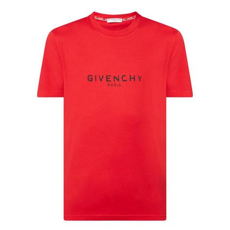 Destroyed Logo T-Shirt, ${color}