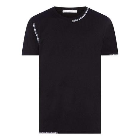 Tape Crewneck T-Shirt, ${color}