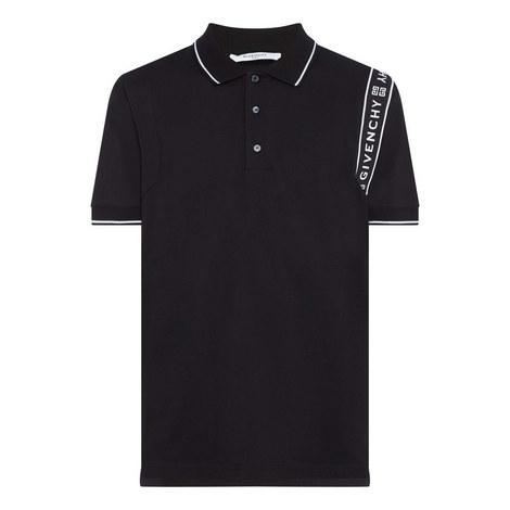 Tape Shoulder Polo Shirt, ${color}