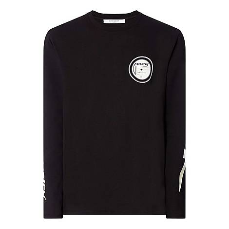 Logo Graphic Long Sleeve T-Shirt, ${color}