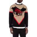 Dragon Motif Sweater, ${color}